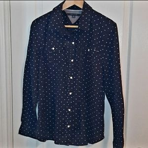 TOMMY HILFIGER Polka-dot shirt